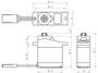Savox - Servo - SH-0256 - Digital - DC Motor